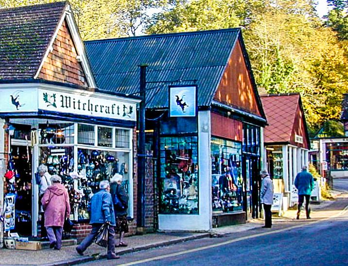 Witchcraft, Burley, Hampshire, UK