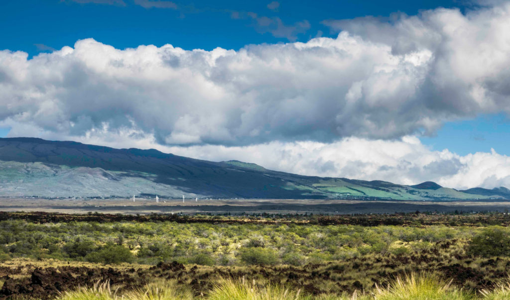"""The Saddle"" between Mauna Kea and Mauna Loa, Kohala, Big Island, Hawaii"