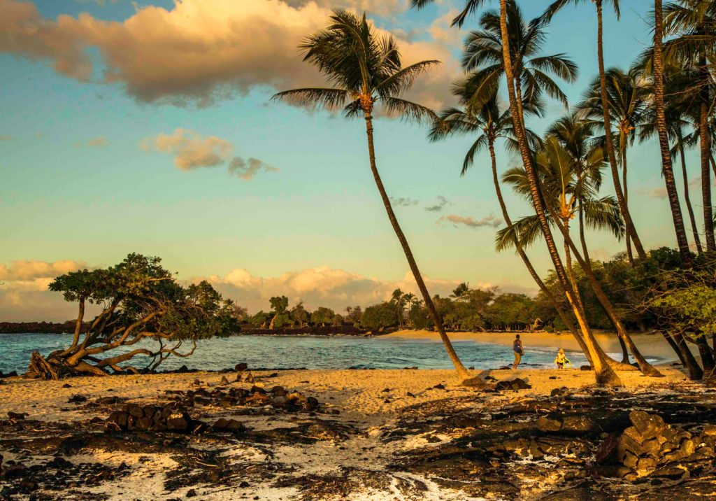 Mahai'ula Beach, South Kohala, Big Island, Hawaii