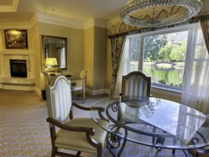 Lakeside suite, The Broadmoor, Colorado Springs, Colorado