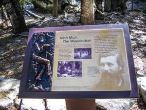 John Muir Woodcutter, Yosemite National Park in Winter, California