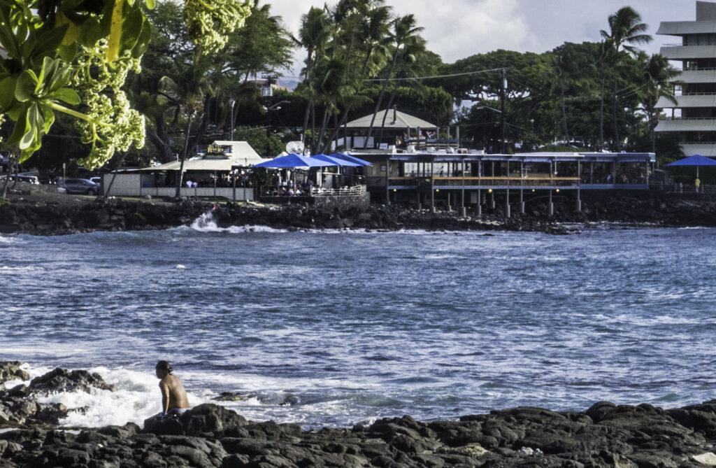 Huggo's On The Rocks, Oneo Bay, Kailua-Kona, Big Island, Hawaii
