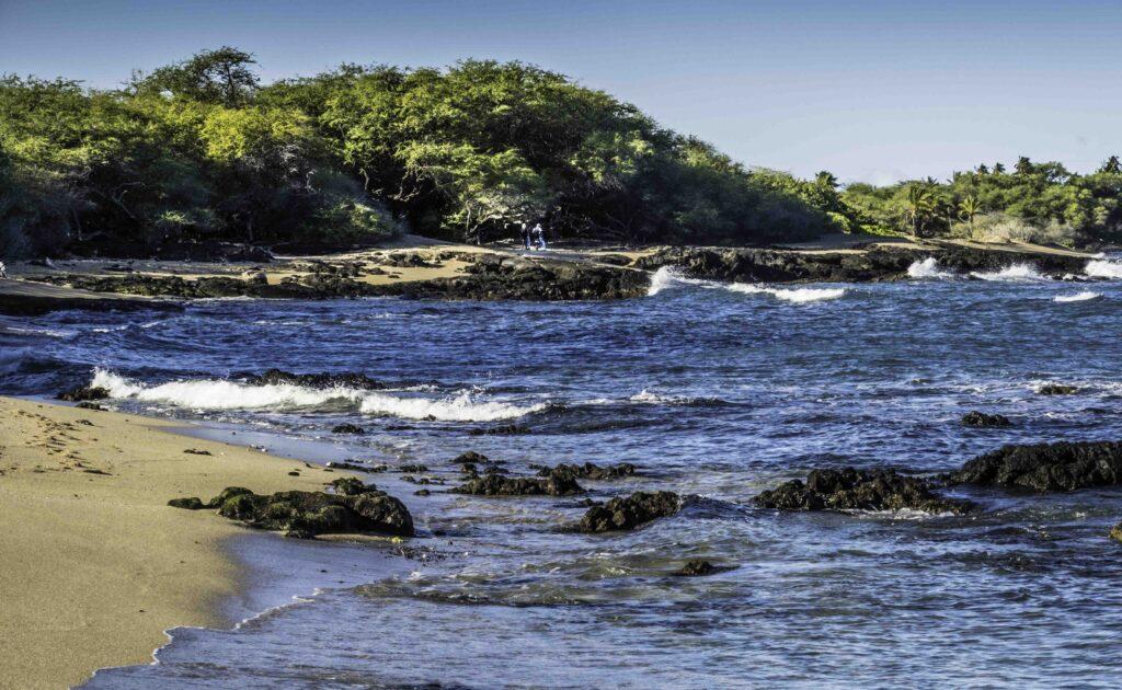 Anaeho'Omalu Beach, Waikoloa, Big Island, Hawaii