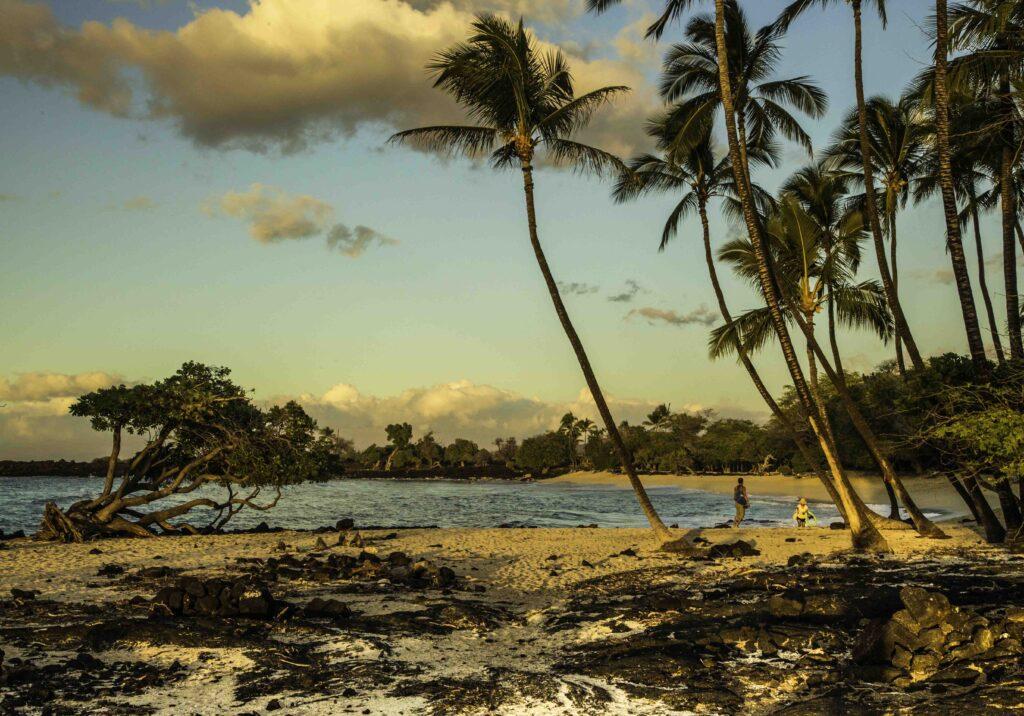 Mahai'ula Beach, Kohala, Big Island, Hawaii