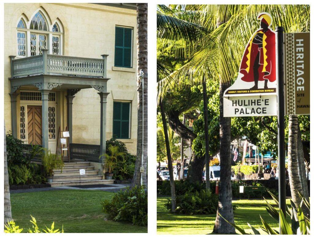 Hulihe'e Palace, Ali'ī Drive, Kailua-Kona, Big Island, Hawaii