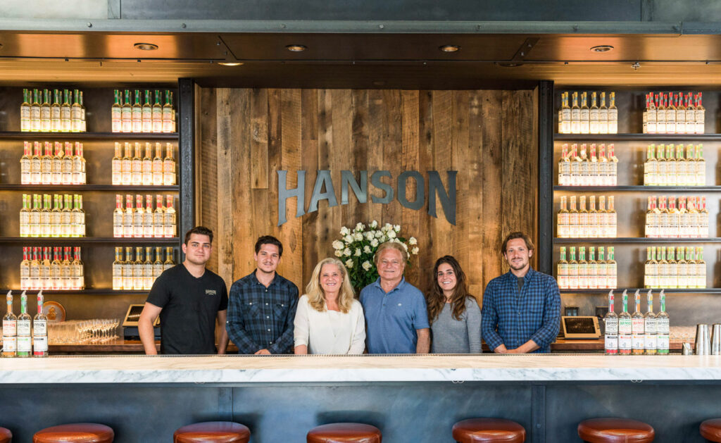Hanson family specialty vodka, Sonoma, CA