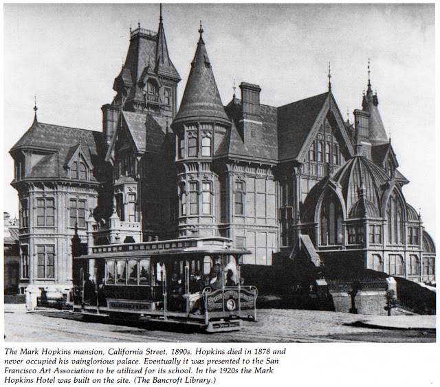 Hopkins Mansion@1890s, San Francisco, CA