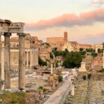 View from the terrace at the back of the Capitoline Hill, Hidden Rome, Italy