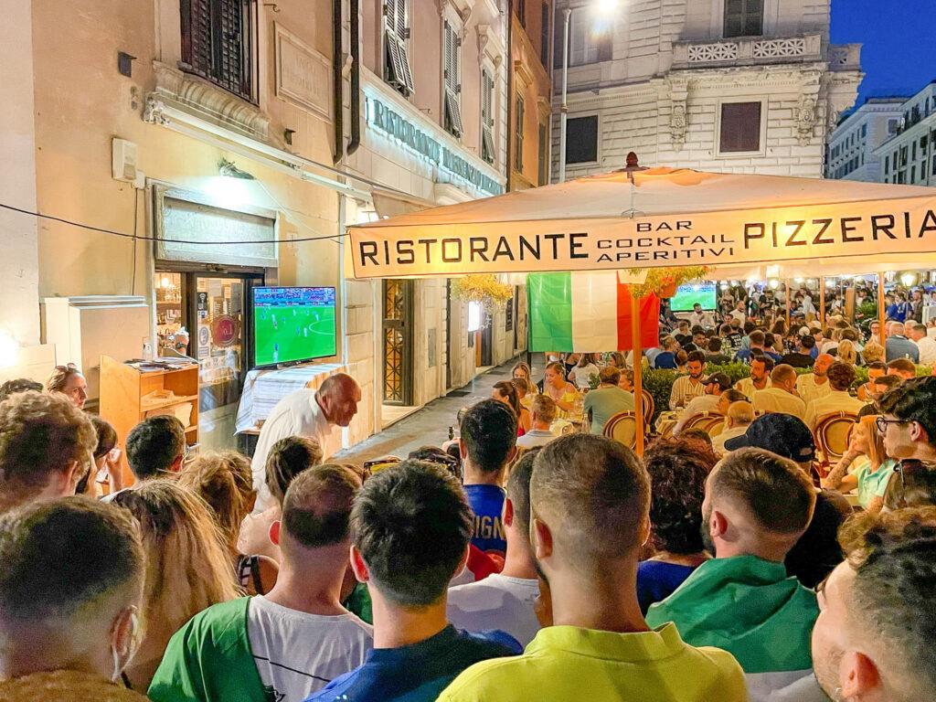 Soccer Fans, Hidden Rome, Italy