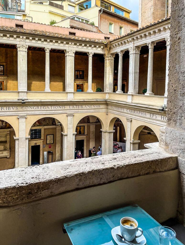 Chiostro del Bramante, Hidden Rome, Italy