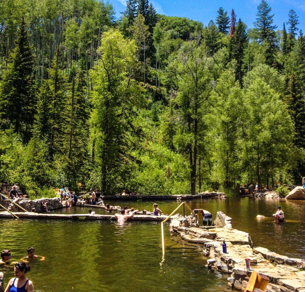 Strawberry Park Hot Springs, Steamboat Springs, Colorado