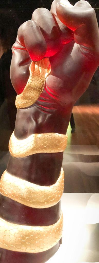 Grand Snake Arm, Judy Chicago exhibit, San Francisco Museum of Modern Art, San Francisco, California
