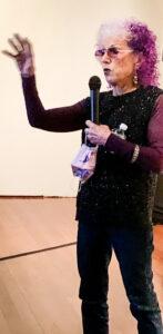 Judy Chicago exhibit, San Francisco Museum of Modern Art, San Francisco, California