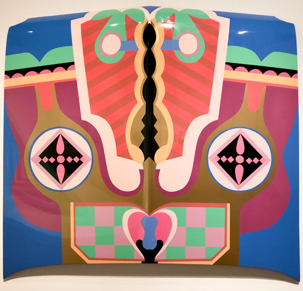 Birth Hood, Judy Chicago exhibit, San Francisco Museum of Modern Art, San Francisco, California