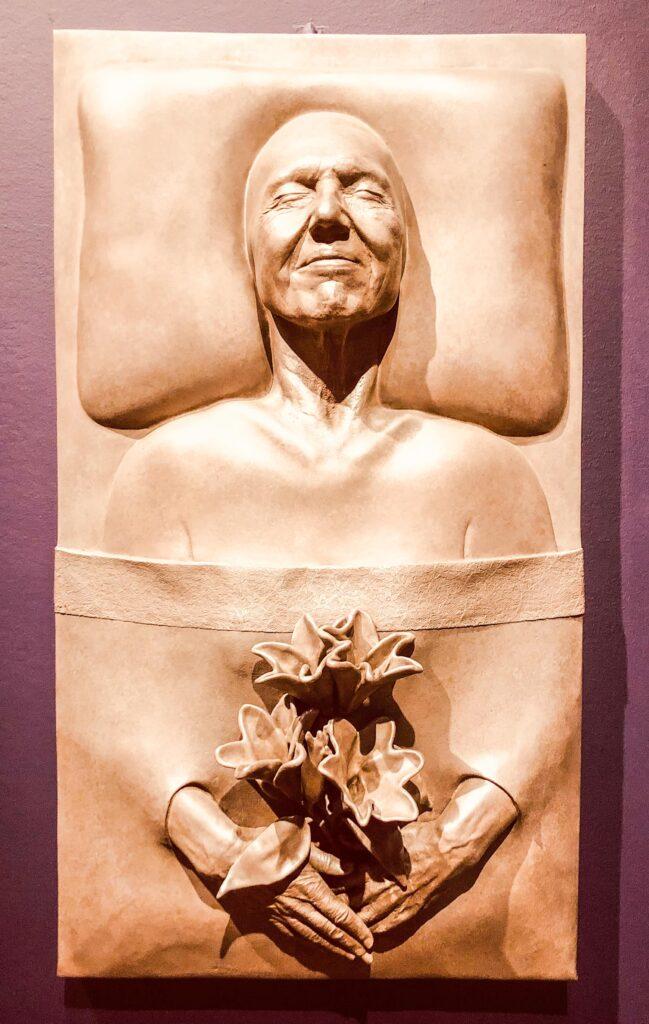 Mortality Relief, Judy Chicago exhibit, San Francisco Museum of Modern Art, San Francisco, California