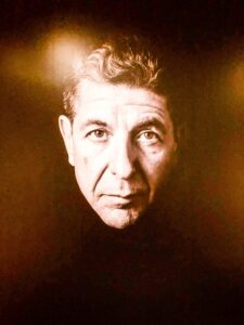 Leonard Cohen exhibit, Contemporary Jewish Museum, San Francisco, CA